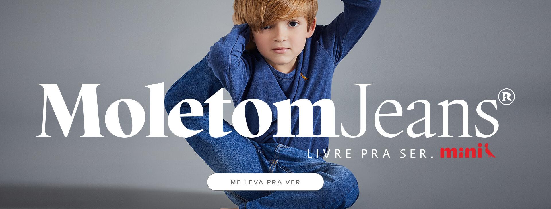Coleção Moletom Jeans Reserva Mini